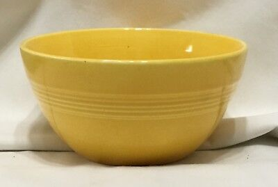 Two Vintage Harlequin 36'S Bowls ... One Yellow ... One Rose ...
