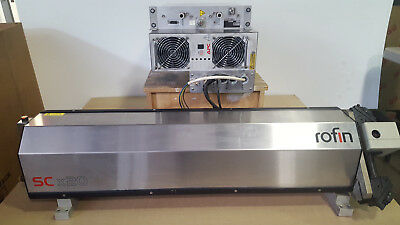 Rofin Co2 Laser Sytem Scx 20 200W. Co2 (Laser Head, Power Supply And Rf)