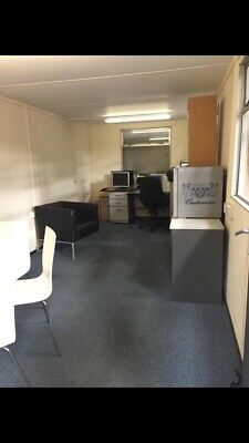 20Ft X 8Ft Portacabin Site Office Container ( Watertight With Electricity!)