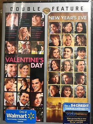 Valentines Day/New Years Eve Double Feature (DVD, 2014, 2-Disc Set)