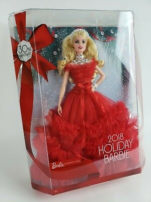 Holiday Barbie 2018 Blonde Doll 30th Anniversary Collector NEW IN BOX