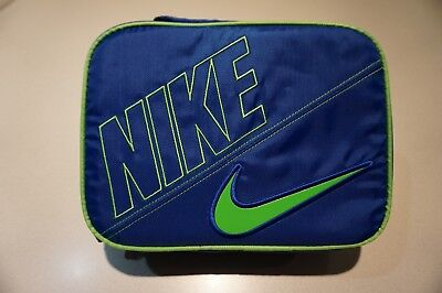separation shoes a5575 7f65c Nike Swoosh Lunch Box bag Unisex Blue green