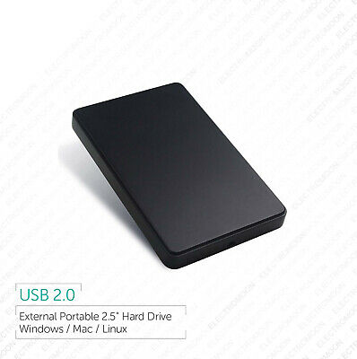 "External 2.5"" Portable USB Hard Drive 120GB 160GB 250GB 320GB 500GB 750GB 1TB"
