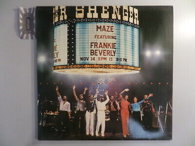 Live In New Orleans [Vinyl, Doppel-LP: 1A 154-400 021/22]. Maze featuring Franki