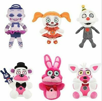 New Five Nights at Freddy's Sister Location Plush Toy Stuffed Doll Collectible