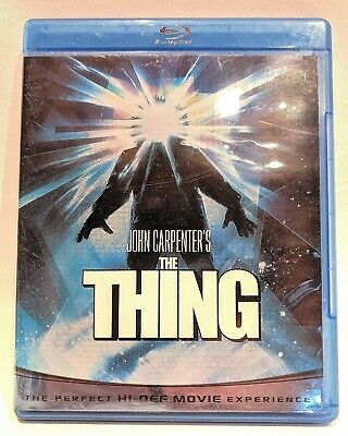 John Carpenter's THE THING Blu-ray Disc 1982 Horror Rated R Very Good Condition