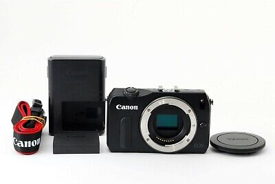 Canon EOS M 18.0 MP Digital Camera Black Body Excellent From Japan