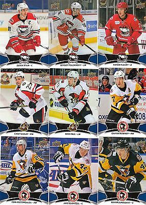 16/17 2016-17 Upper Deck AHL Base Card Derek Ryan #25 Hurricanes