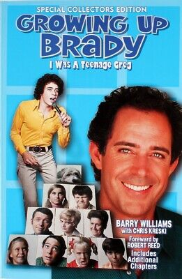 """Barry Williams Direct! """"Growing Up Brady"""" Book Signed To You! * The Brady Bunch"""