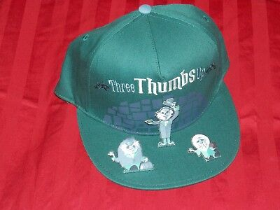 Disney Parks Haunted Mansion Adult Hat Hitchhiking Ghosts Three Thumbs Up New