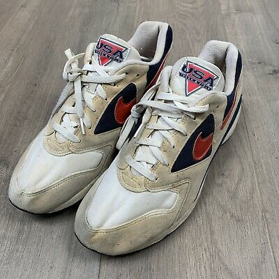 7596d71f877c VTG 1993 Nike Air Icarus USA Track And Field Olympics Trainers US 11.5 UK  10.5