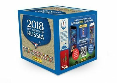 Panini FIFA World Cup  2018 Stickers 50 Packs