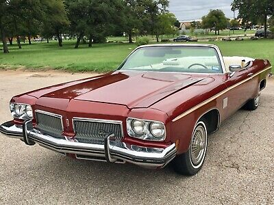 1973 Oldsmobile Eighty-Eight Royale 1973 Olds Delta 88 Royale Convertible w Rocket 455 V8