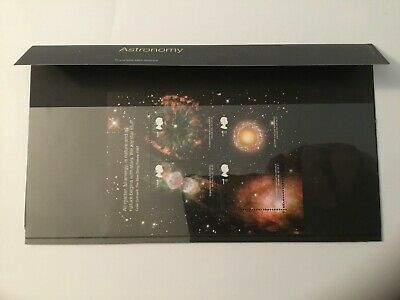 Royal Mail GB MNH Miniature Sheet Astronomy Presentation Pack Stamps all Superb