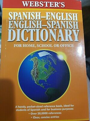 Websters Spanish-English Dictionary