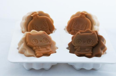 Canimals Cooking Character Four balls Silicone soap Mould plaster Mold