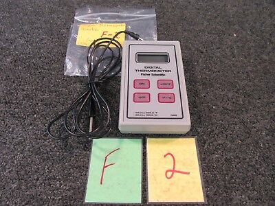 Fisher Scientific Digital Thermometer Temperature Probe Nbs -40 To 300 Deg Used