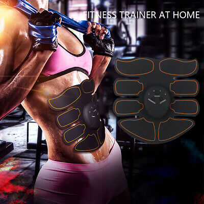 Ultimate  Slim Stimulator Abdominal Muscle Train Toning Belt Waist Trimmer