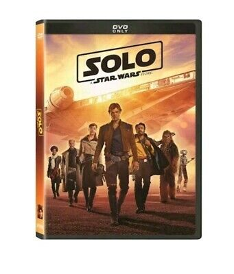 Solo A Star Wars Story DVD New & Factory Sealed Free Shipping Included!