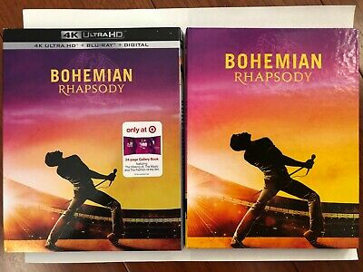 Bohemian Rhapsody (4K Ultra HD Disc ONLY) w/ TARGET EXCLUSIVE CASE! SEE DETAILS!