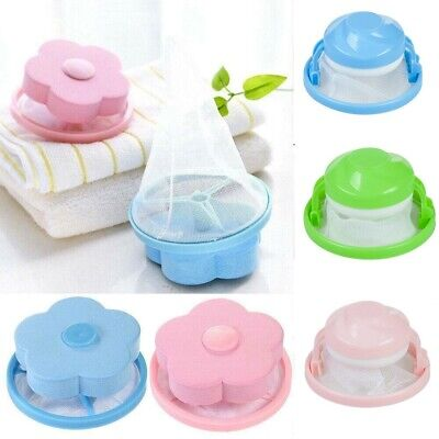 Portable Floating Pet Fur Hair Catcher Reusable For Washing Machine Remover Tool
