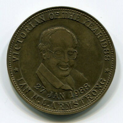 Armstrong Shoes Token - Ian Armstrong As 1988 Victorian Of The Year (Kooka)