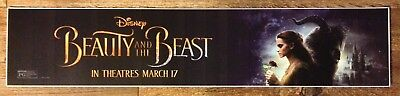 Disney - Beauty And The Beast - Movie Theater Poster / Mylar LARGE Vers - 5x25