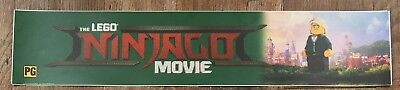 The Lego Ninjago Movie - Movie Theater Poster / Mylar LARGE Vers - 5x25