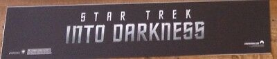 Star Trek Into Darkness - Movie Theater Poster / Mylar LARGE Vers - 5x25