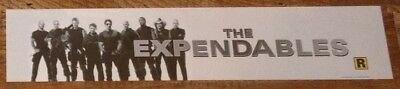 The Expendables - Movie Theater Poster / Mylar LARGE Vers - 5x25