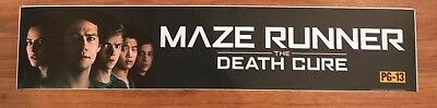 Maze Runner: The Death Cure - Movie Theater Poster / Mylar LARGE Vers - 5x25