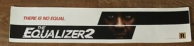The Equalizer 2  - Movie Theater Poster / Mylar LARGE Vers - 5x25