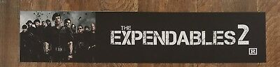 The Expendables 2 - Movie Theater Poster / Mylar LARGE Vers - 5x25