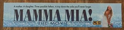 Mamma Mia! - Movie Theater Poster / Mylar LARGE Vers - 5x25