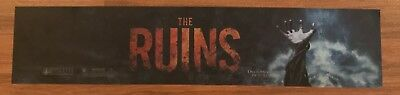 The Ruins - Horror - Movie Theater Poster / Mylar LARGE Vers - 5x25