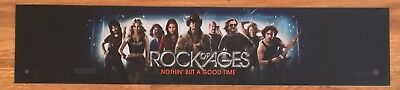 Rock Of Ages - Tom Cruise - Movie Theater Poster / Mylar LARGE Vers - 5x25