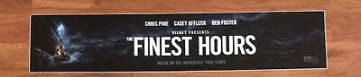 The Finest Hours - Disney - Movie Theater Poster / Mylar LARGE Vers - 5x25
