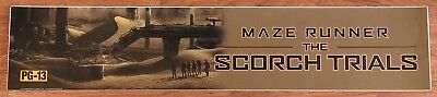 Maze Runner: The Scorch Trials - Movie Theater Poster / Mylar LARGE Vers - 5x25