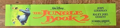 Disney - The Jungle Book 2 - Movie Theater Poster / Mylar LARGE Vers - 5x25