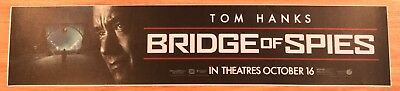 Bridge Of Spies - Tom Hanks - Movie Theater Poster / Mylar LARGE Vers - 5x25