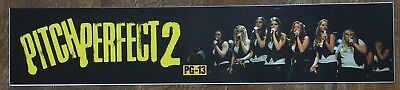 Pitch Perfect 2 - Movie Theater Poster / Mylar LARGE Vers - 5x25