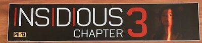 Insidious Chapter 3 - Movie Theater Poster / Mylar LARGE Vers - 5x25