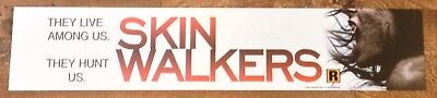 Skin Walkers - Horror - Movie Theater Banner / Mylar LARGE Vers - 5x25