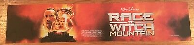 Race To Witch Mountain - Movie Theater Poster / Mylar LARGE Vers - 5x25