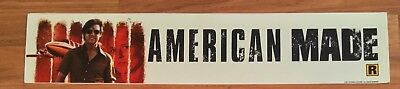 American Made - Tom Cruise - Movie Theater Poster / Mylar LARGE Vers - 5x25