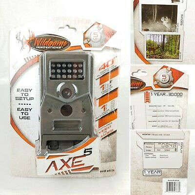 Wildgame Innovations w5i2d 40ft Infared Trail Game Camera Hunting 5mp Axe5 480p