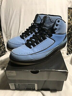 cheap for discount 968ee 13996 2010 Air Jordan II 2 Retro QF CANDY PACK UNIVERSITY BLUE WHITE Sz 12 395709  401
