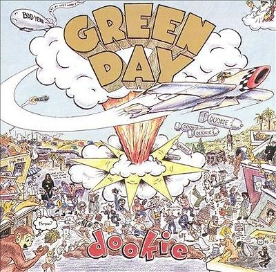 Dookie by Green Day (CD, Jan-1994, Reprise) BROWN TRAY - ERNIE BANNED