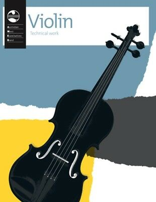 AMEB Violin Technical Work Book - 2011 Edition (Current) - Violin Workbook