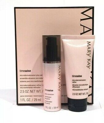 MARY KAY Timewise Microdermabrasion Plus Set Full Size New! Dont Pay $55 + Tax